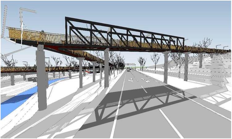 Jornal Campeão: Nova ponte pedonal e ciclável vai ligar jardins da Casa do Sal ao Monte Formoso