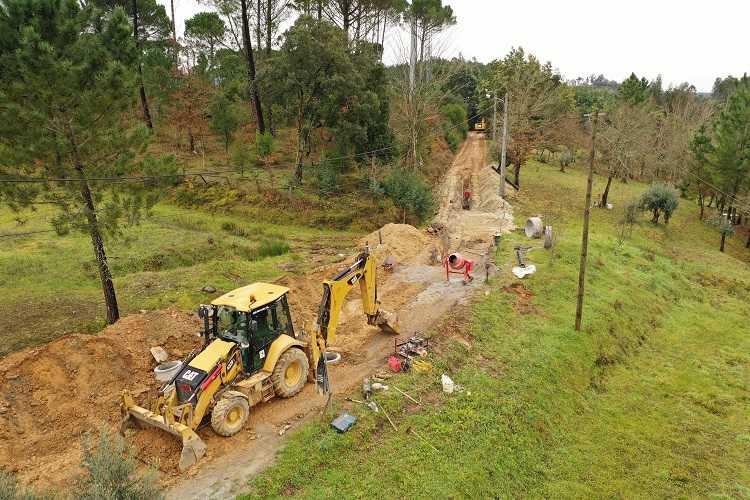 Jornal Campeão: Arganil avança com obras para novo sistema de saneamento em Casal de São José