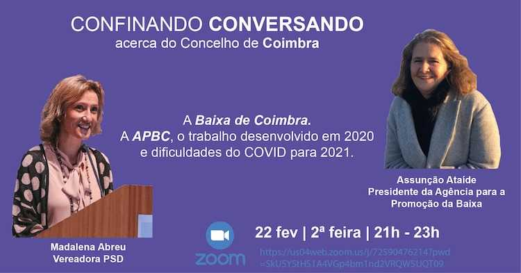 """Jornal Campeão: """"Confinando Conversando"""" aborda Concelho de Coimbra"""