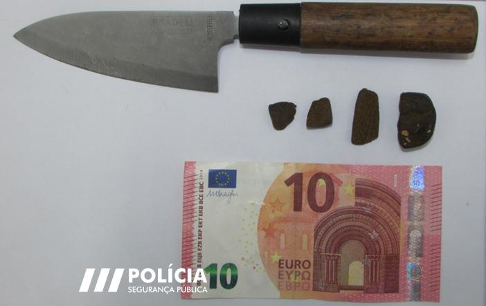 Jornal Campeão: PSP deteve homem por tráfico de droga na Figueira da Foz