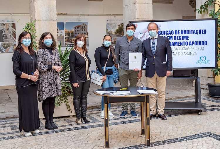 Jornal Campeão: Pombal entrega habitações sociais a mais seis famílias