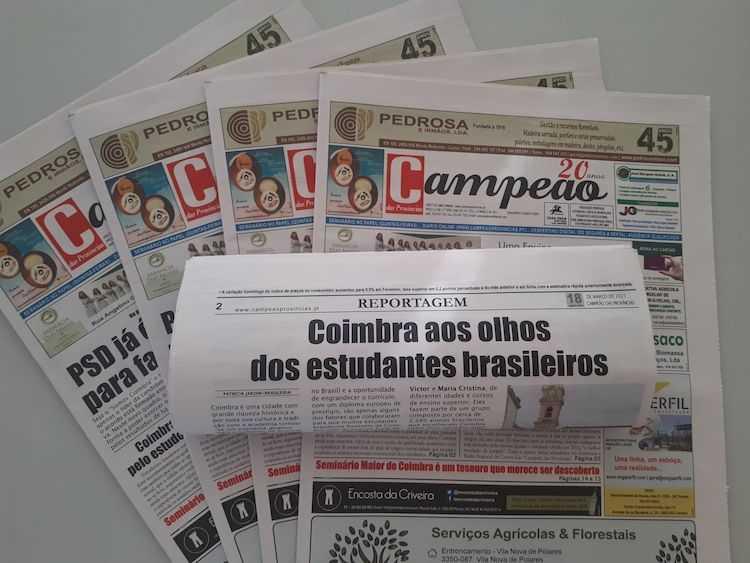 Jornal Campeão: Coimbra aos olhos dos estudantes brasileiros