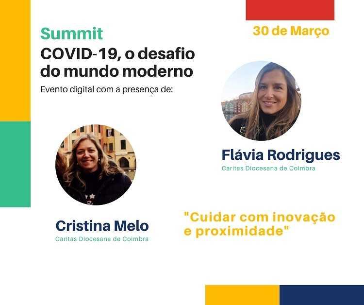 """Jornal Campeão: Cáritas de Coimbra marca presença em Summit """"Covid-19, o desafio do mundo moderno"""""""