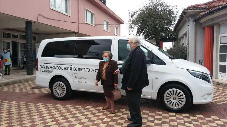 Jornal Campeão: Casa da Mãe recebeu viatura doada pela Fundação Mater Christi