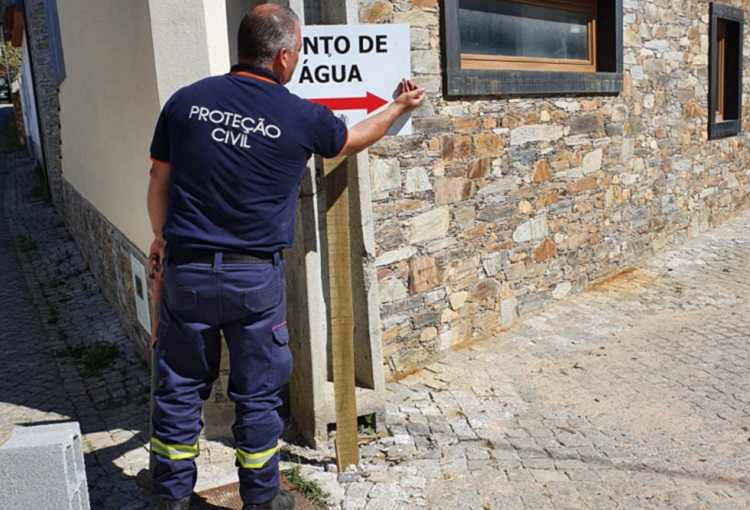 Jornal Campeão: Pampilhosa da Serra coloca sinalética para localização de pontos de água