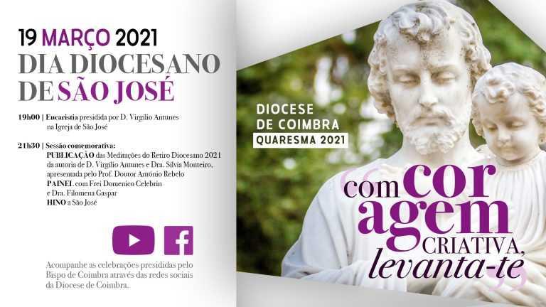 Jornal Campeão: Diocese de Coimbra celebra Dia de São José com sessão online