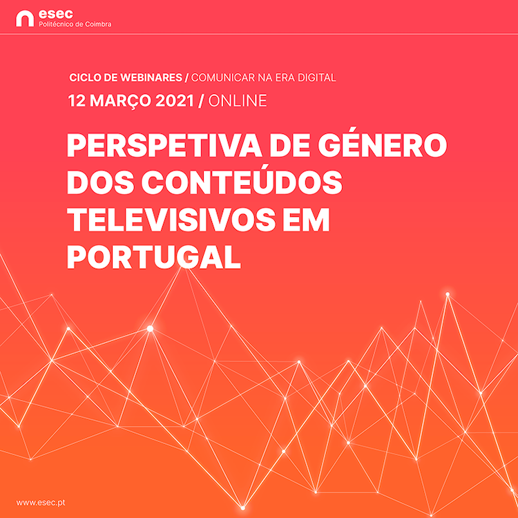 """Jornal Campeão: ESEC prepara webinar sobre """"Perspectiva de género dos conteúdos televisivos"""""""