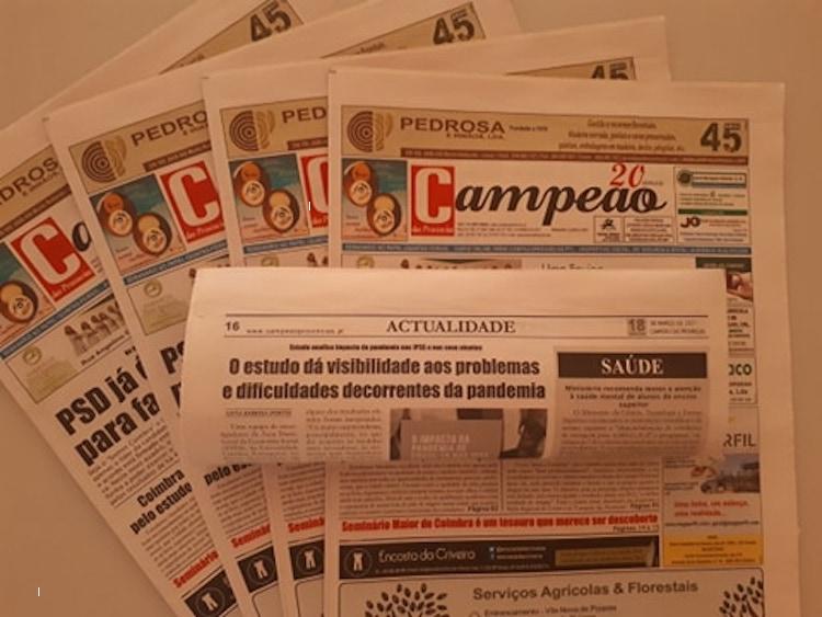 Jornal Campeão: Estudo analisa impacto da pandemia nas IPSS e nos utentes