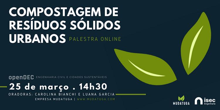 Jornal Campeão: ISEC organiza seminário sobre compostagem de resíduos sólidos urbanos