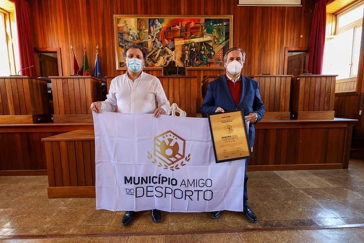 """Jornal Campeão: Miranda do Corvo distinguido como """"Município Amigo do Desporto"""""""