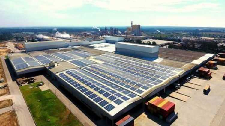 Jornal Campeão: Navigator inaugura central solar fotovoltaica na Figueira da Foz