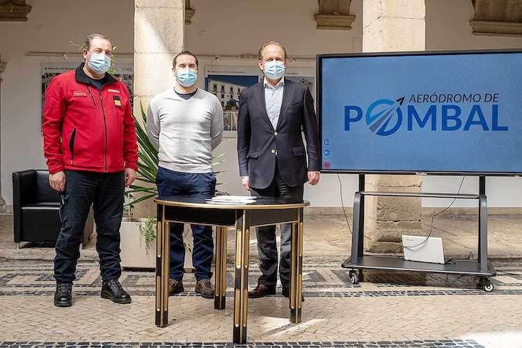 Jornal Campeão: Presidente da Câmara de Pombal nomeia directores da Pista de Ultraleves