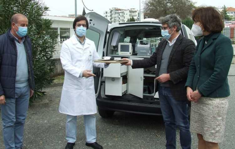 Jornal Campeão: Oliveira do Hospital entregou unidade móvel ao Centro de Saúde local
