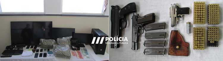 Jornal Campeão: Figueira da Foz: Três homens detidos por droga e posse ilegal de arma