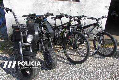 Jornal Campeão: PSP recupera bens furtados na Figueira da Foz
