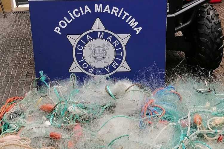 Jornal Campeão: Polícia Marítima da Figueira da Foz apreendeu 15 artes de pesca