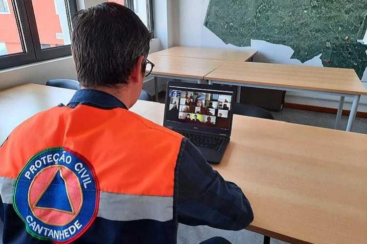 Jornal Campeão: Protecção Civil de Cantanhede promoveu aula online sobre prevenção e segurança
