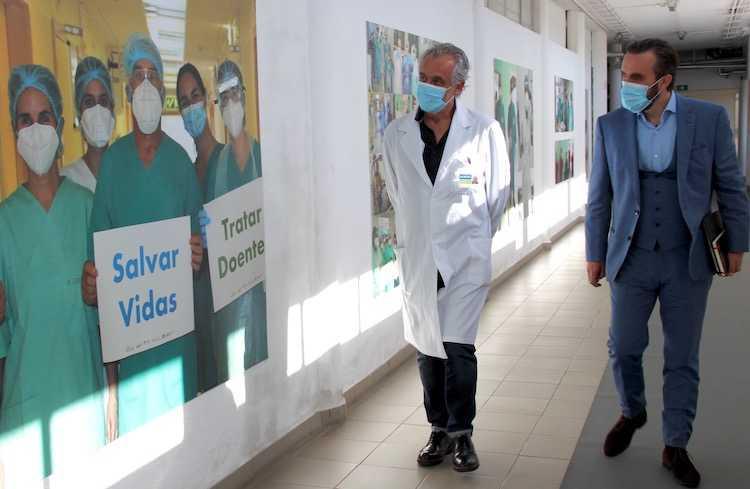 Jornal Campeão: Ordem dos Médicos do Centro elogia resposta do Hospital de Ovar durante pandemia