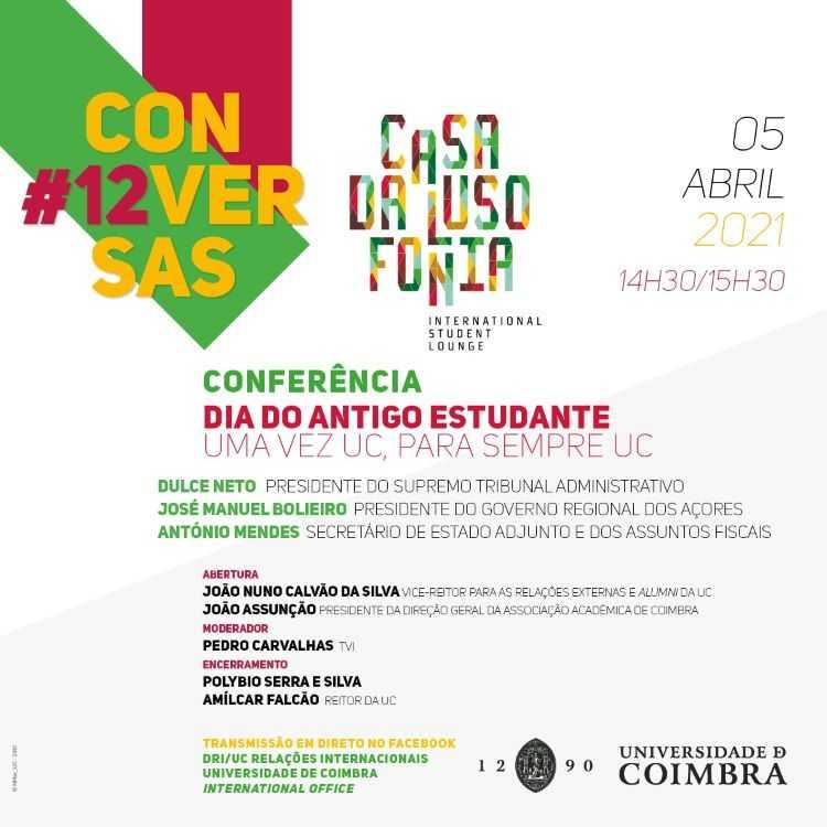 """Jornal Campeão: UC promove conferência sobre """"Dia do Antigo Estudante"""""""