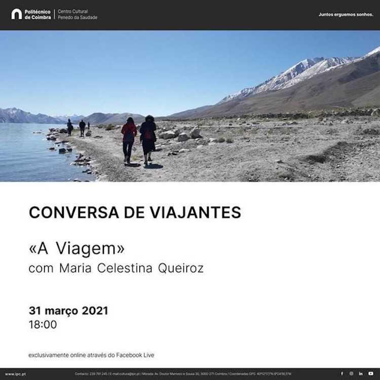 """Jornal Campeão: """"Conversa de Viajantes"""" decorre via online com Maria Queiroz"""