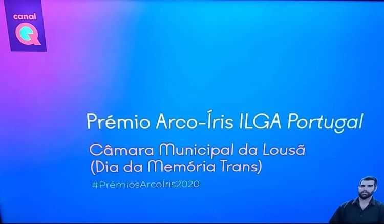 Jornal Campeão: Câmara da Lousã distinguida nos Prémios Arco-Íris da ILGA Portugal