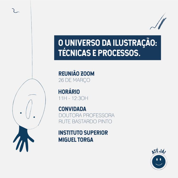 """Jornal Campeão: Instituto Miguel Torga com webinar """"O universo da ilustração: técnicas e processos"""""""