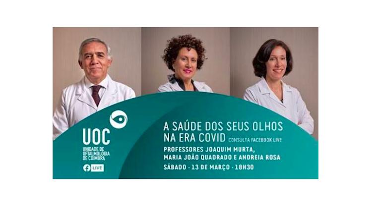 Jornal Campeão: Especialistas de Coimbra esclarecem dúvidas sobre a saúde ocular na era covid-19