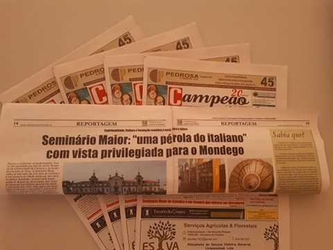 """Jornal Campeão: Seminário Maior: uma """"pérola do italiano"""" com vista privilegiada para o Mondego"""