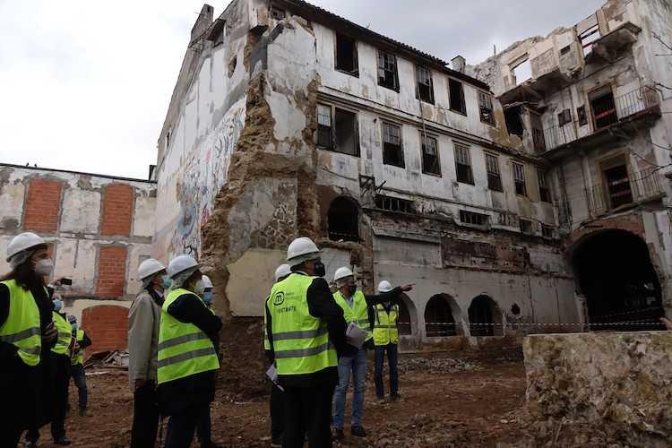 Jornal Campeão: Obras da Via Central receberam visita da Câmara, CCDRC e Metro Mondego
