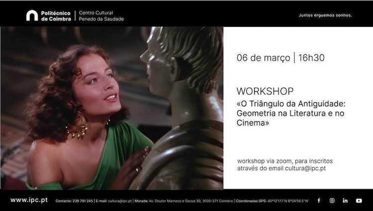 Jornal Campeão: Workshop com Clara Maia no Centro Cultural do Politécnico de Coimbra