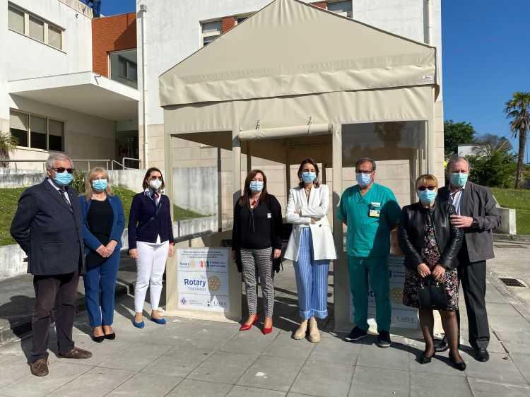 Jornal Campeão: Rotary Club de Coimbra oferece tenda ao CHUC
