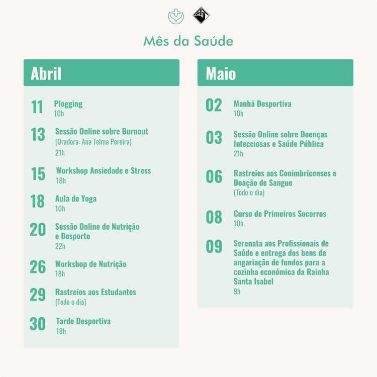 Jornal Campeão: Associação Académica de Coimbra apresenta o Mês da Saúde