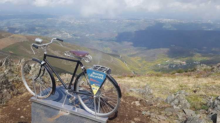 Jornal Campeão: Oliveira do Hospital instala bicicleta no Monte do Colcurinho