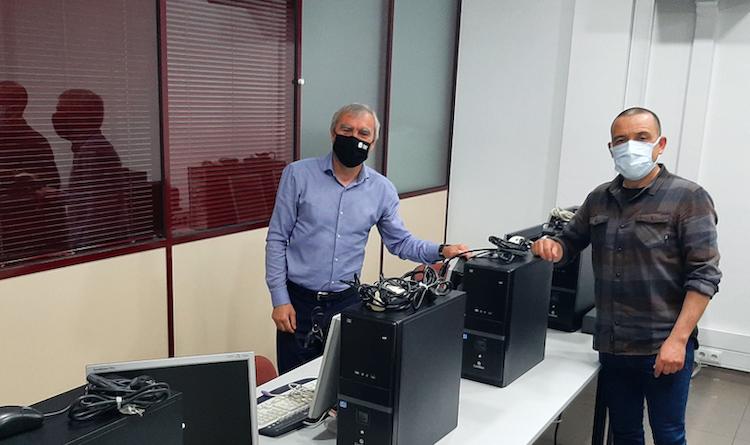 Jornal Campeão: CEARTE oferece computadores a IPSS para apoio a jovens em idade escolar