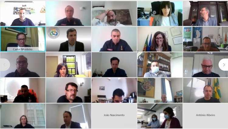 Jornal Campeão: CIM da Região de Coimbra discute estratégia da Protecção Civil 2030