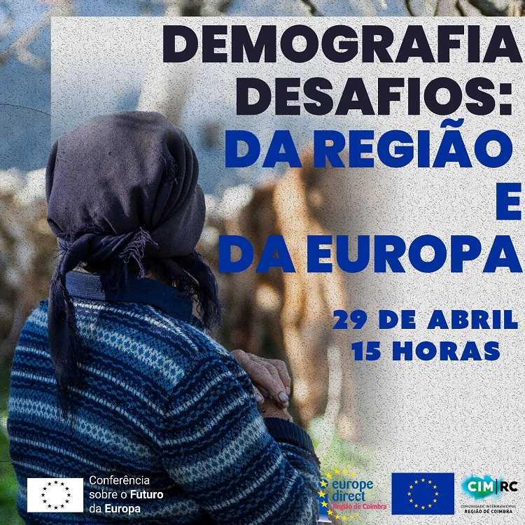Jornal Campeão: CIM de Coimbra promove webinar sobre desafios demográficos na região e na Europa