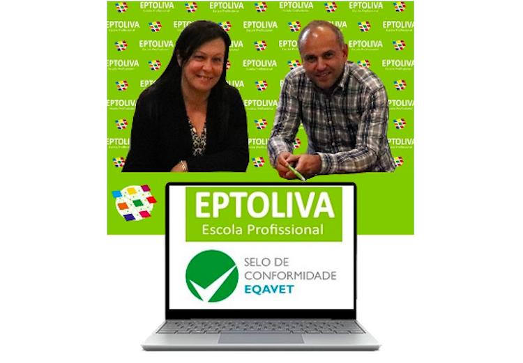 Jornal Campeão: EPTOLIVA com selo de garantia de qualidade na educação e formação profissional