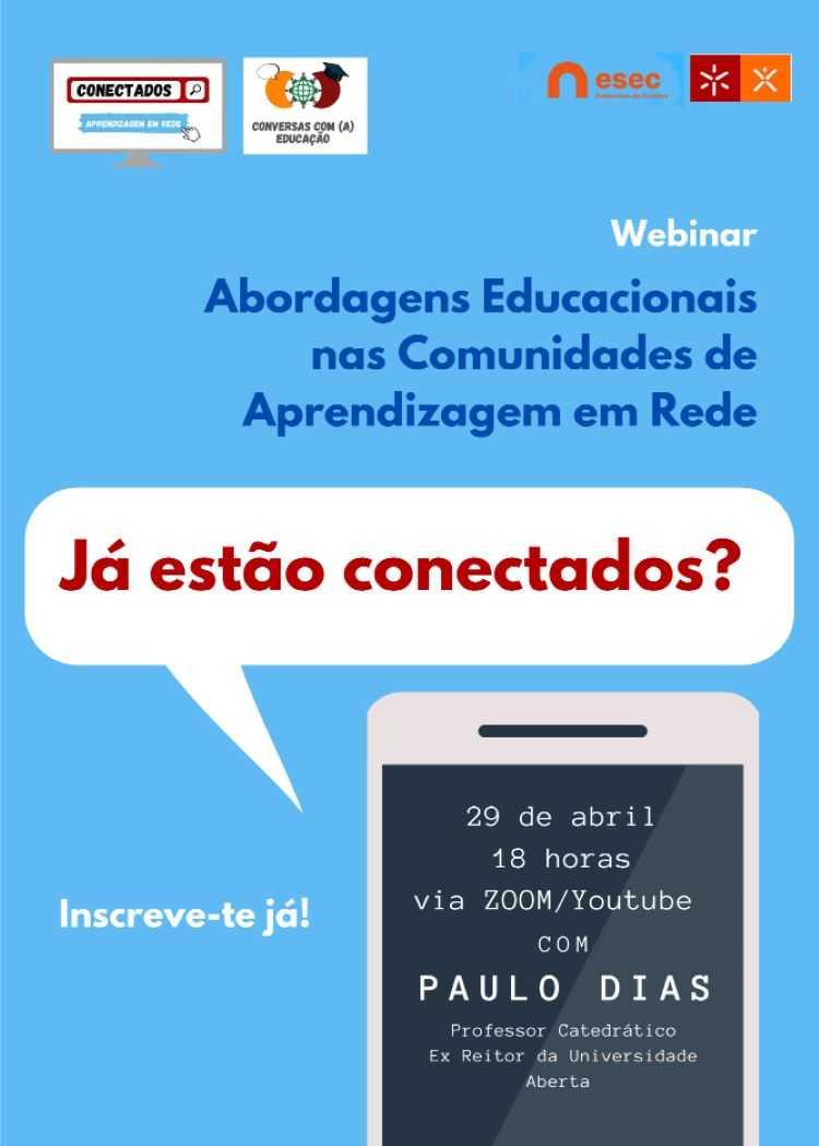 Jornal Campeão: ESEC apresenta novo webinar do 'Ciclo de Conversas com (a) Educação'