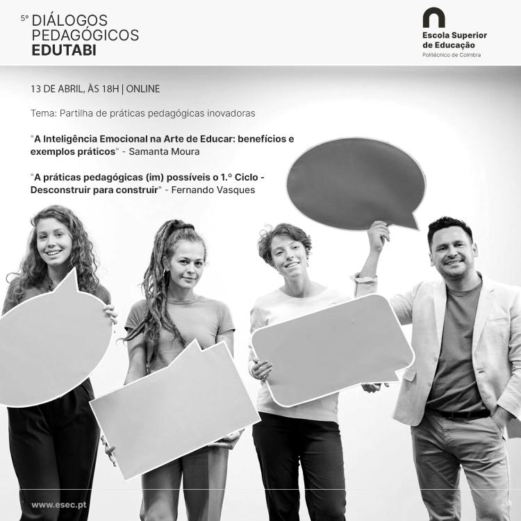 Jornal Campeão: ESEC recebe 5.ª sessão dos Diálogos Pedagógicos EDUTABi