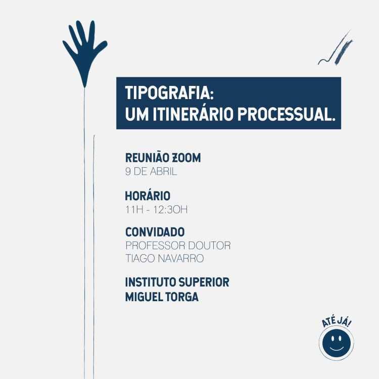 """Jornal Campeão: Instituto Miguel Torga realiza webinar sobre """"Tipografia: Um Itinerário Processual"""""""