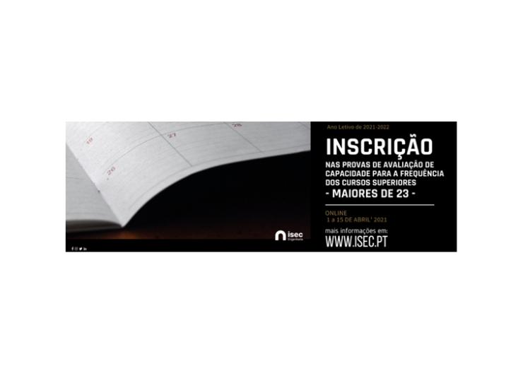 Jornal Campeão: ISEC realiza provas de ingresso no Ensino Superior destinadas a maiores de 23 anos