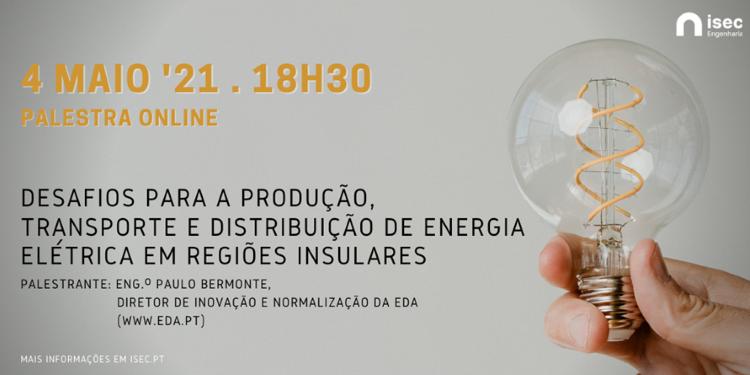 Jornal Campeão: ISEC realiza palestra sobre energia eléctrica em regiões insulares