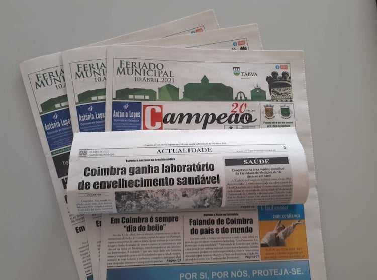 Jornal Campeão: Coimbra ganha laboratório de envelhecimento saudável
