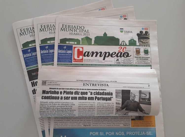 Jornal Campeão: Entrevista a Marinho Pinto