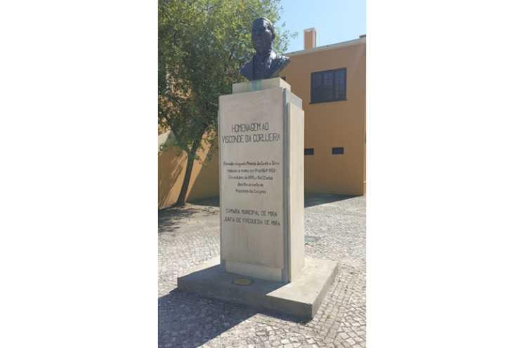 Jornal Campeão: Mira homenageou Visconde da Corujeira no Dia dos Monumento e Sítios