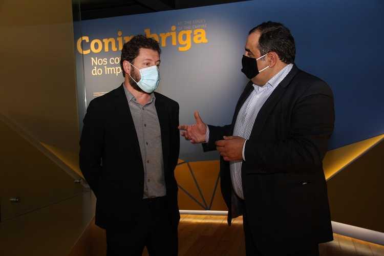 Jornal Campeão: Presidente de Condeixa deu as boas-vindas ao novo director do Museu de Conimbriga