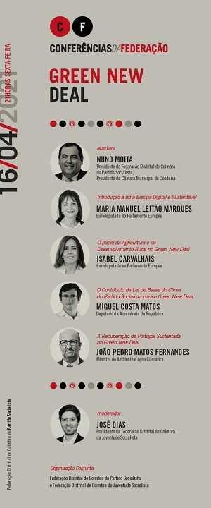 Jornal Campeão: PS e JS de Coimbra organizam conferência climática com o ministro do Ambiente