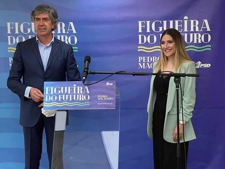 Jornal Campeão: Figueira da Foz: Pedro Machado tem 'top model' como mandatária para a Juventude