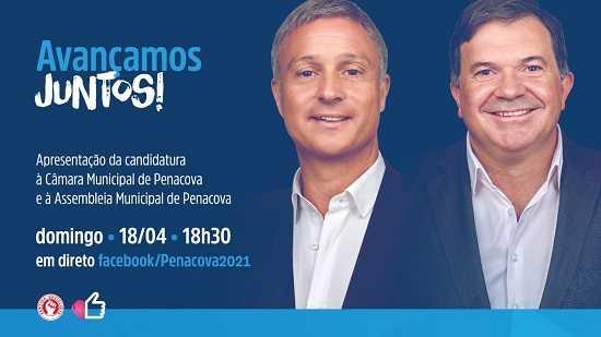 Jornal Campeão: Pedro Coimbra (PS) apresenta-se como candidato à Câmara de Penacova