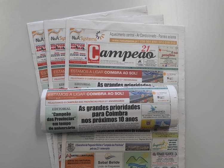 Jornal Campeão: As grandes prioridades para Coimbra nos próximos 10 anos